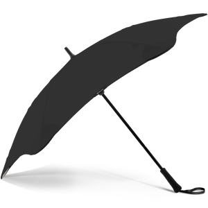 2020 Classic Black Blunt Umbrella Side View