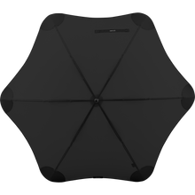 Load image into Gallery viewer, 2020 Classic Black Blunt Umbrella Top View