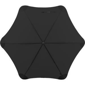 2020 Black Exec Blunt Umbrella Top View