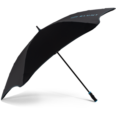 2020 Black/Blue Sport Blunt Umbrella Side View