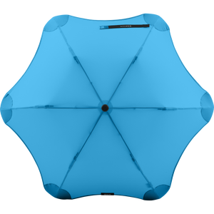 2020 Metro Blue Blunt Umbrella Top View