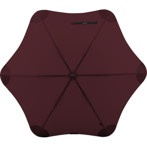 2020 Classic Burgundy Blunt Umbrella Top View