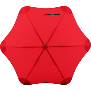 2020 Classic Red Blunt Umbrella Top View