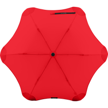 Load image into Gallery viewer, 2020 Metro Red Blunt Umbrella Top View
