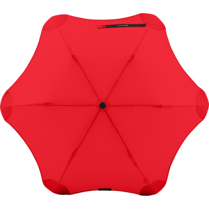 2020 Metro Red Blunt Umbrella Top View