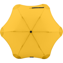 Load image into Gallery viewer, 2020 Metro Yellow Blunt Umbrella Top View
