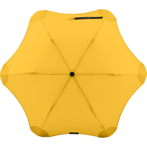 2020 Metro Yellow Blunt Umbrella Top View