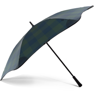 2020 Classic Forest Check Blunt Umbrella Side View