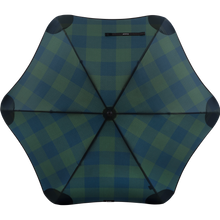 Load image into Gallery viewer, 2020 Classic Forest Check Blunt Umbrella Top View