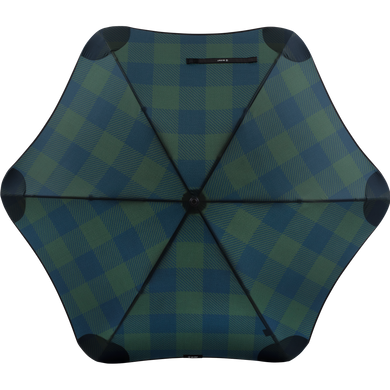 2020 Classic Forest Check Blunt Umbrella Top View