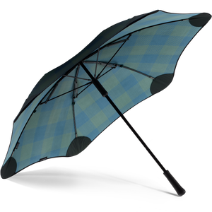 2020 Classic Forest Check Blunt Umbrella Under View