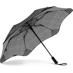 2020 Metro Houndstooth Blunt Umbrella Under View