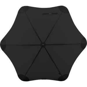 2020 Classic Black Blunt Umbrella Top View