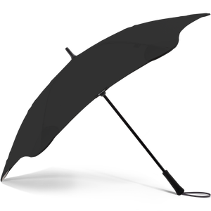 2020 Black Exec Blunt Umbrella Side View