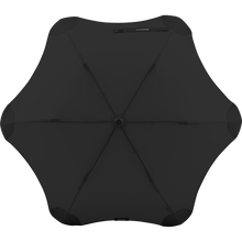 Load image into Gallery viewer, 2020 Metro Black Blunt Umbrella Top View