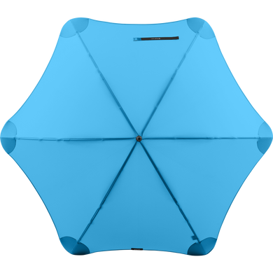 2020 Blue Exec Blunt Umbrella Top View
