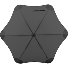 Load image into Gallery viewer, 2020 Classic Charcoal Blunt Umbrella Top View