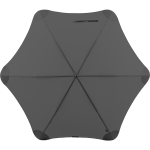 2020 Charcoal Exec Blunt Umbrella Top View