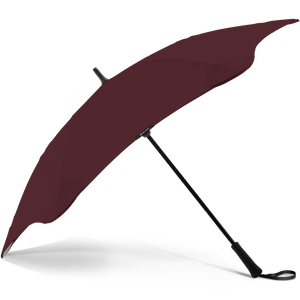 2020 Classic Burgundy Blunt Umbrella Side View