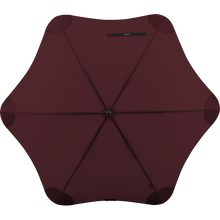 Load image into Gallery viewer, 2020 Classic Burgundy Blunt Umbrella Top View