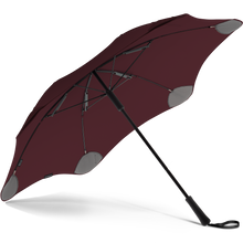 Load image into Gallery viewer, 2020 Classic Burgundy Blunt Umbrella Under View