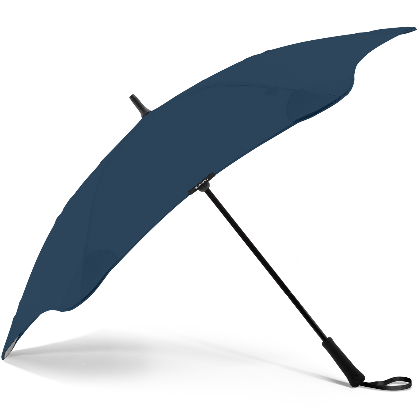 2020 Classic Navy Blunt Umbrella Side View