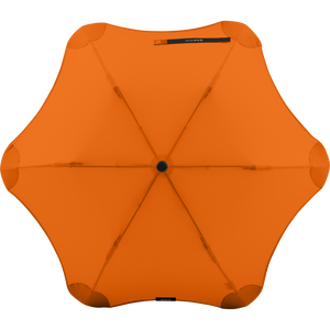 2020 Metro Orange Blunt Umbrella Top View