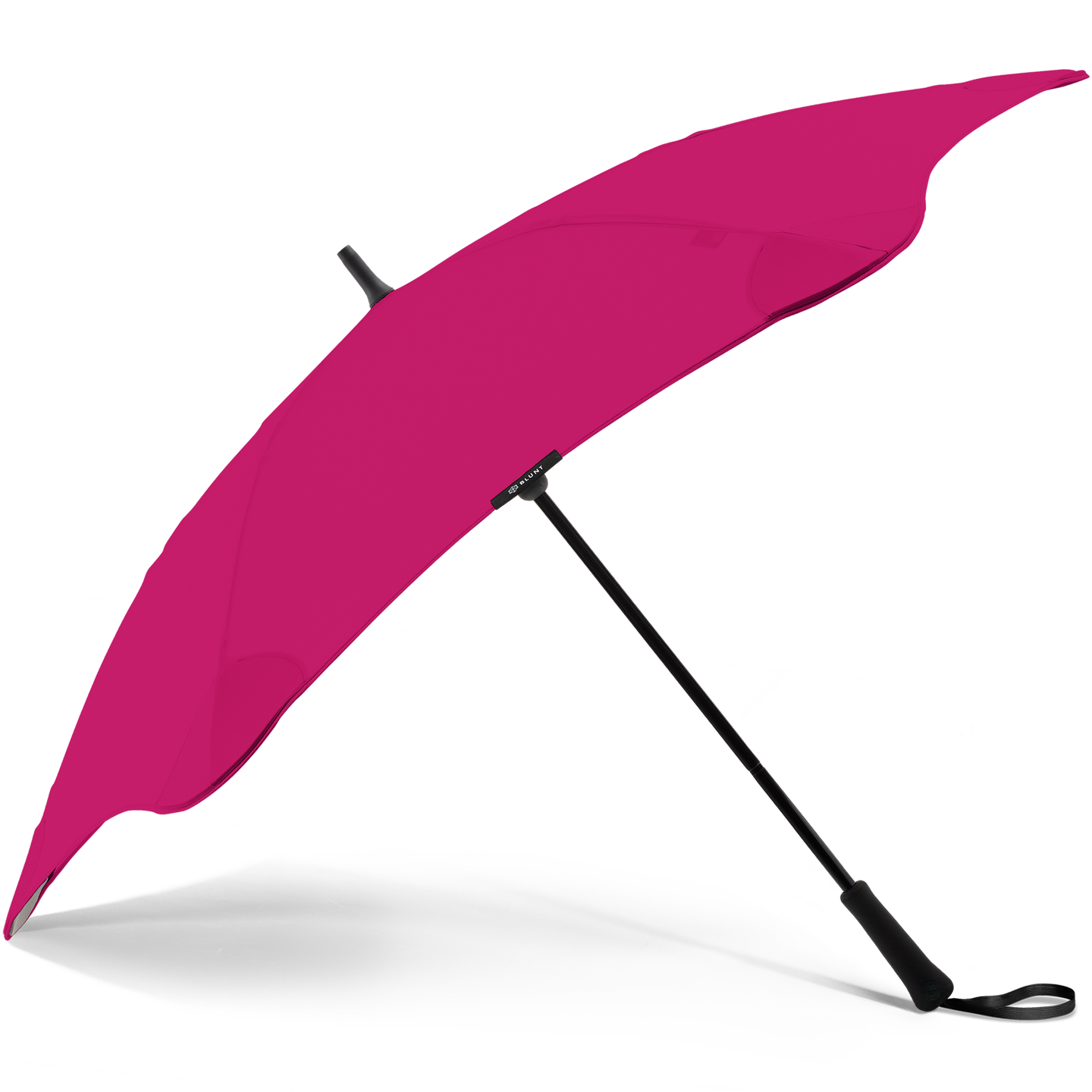 2020 Classic Pink Blunt Umbrella Side View