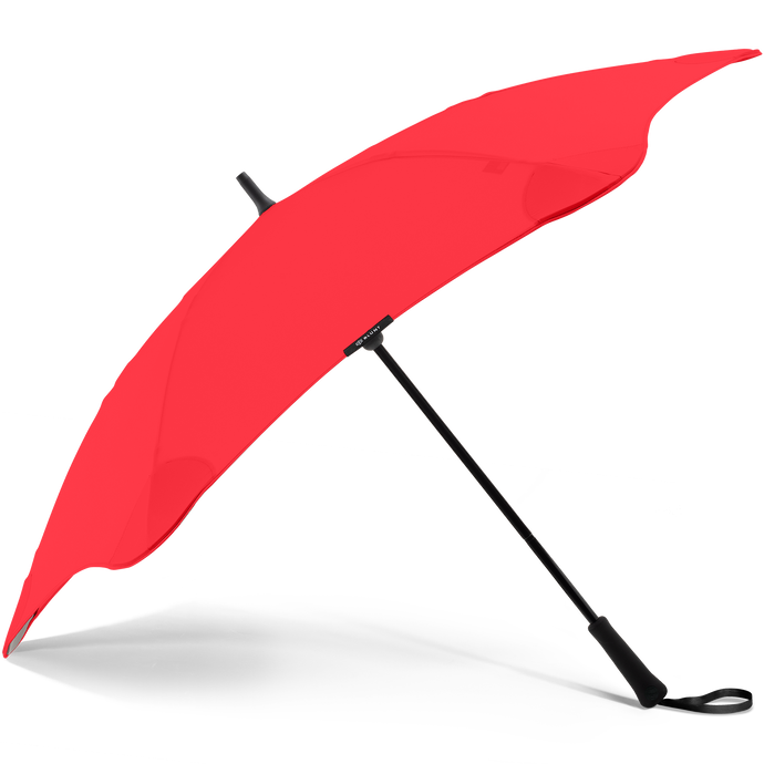 2020 Classic Red Blunt Umbrella Side View