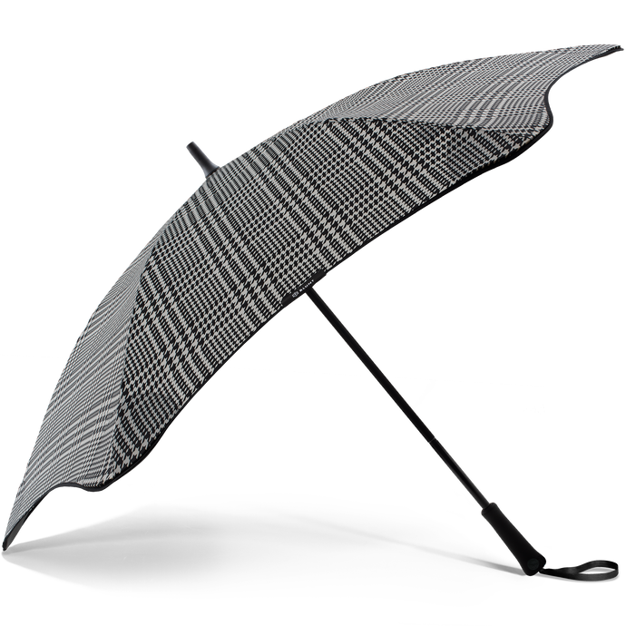 2020 Classic Houndstooth Blunt Umbrella Side View