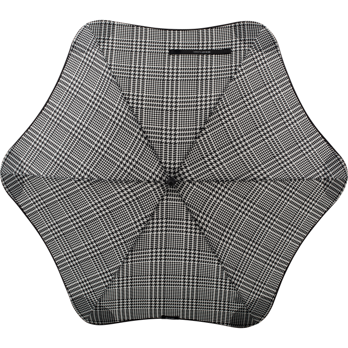 2020 Classic Houndstooth Blunt Umbrella Top View