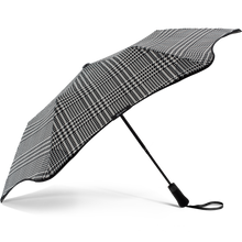 Load image into Gallery viewer, 2020 Metro Houndstooth Blunt Umbrella Side View