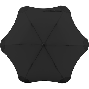 2020 Metro Black Blunt Umbrella Top View