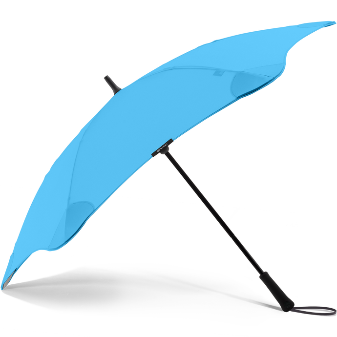 2020 Blue Exec Blunt Umbrella Side View