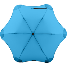 Load image into Gallery viewer, 2020 Metro Blue Blunt Umbrella Top View