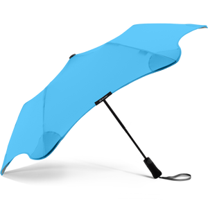2020 Metro Blue Blunt Umbrella Side View