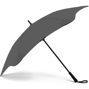 2020 Classic Charcoal Blunt Umbrella Side View