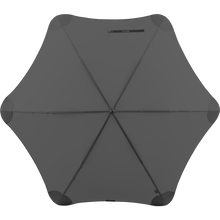 Load image into Gallery viewer, 2020 Charcoal Exec Blunt Umbrella Top View