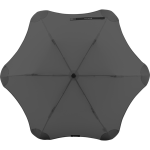 2020 Metro Charcoal Blunt Umbrella Top View