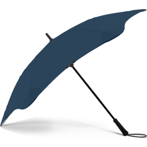 2020 Navy Exec Blunt Umbrella Side View