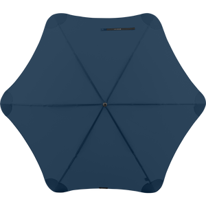 2020 Navy Exec Blunt Umbrella Top View
