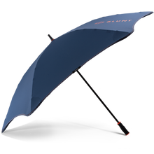 Load image into Gallery viewer, 2020 Navy/Orange Sport Blunt Umbrella Side View