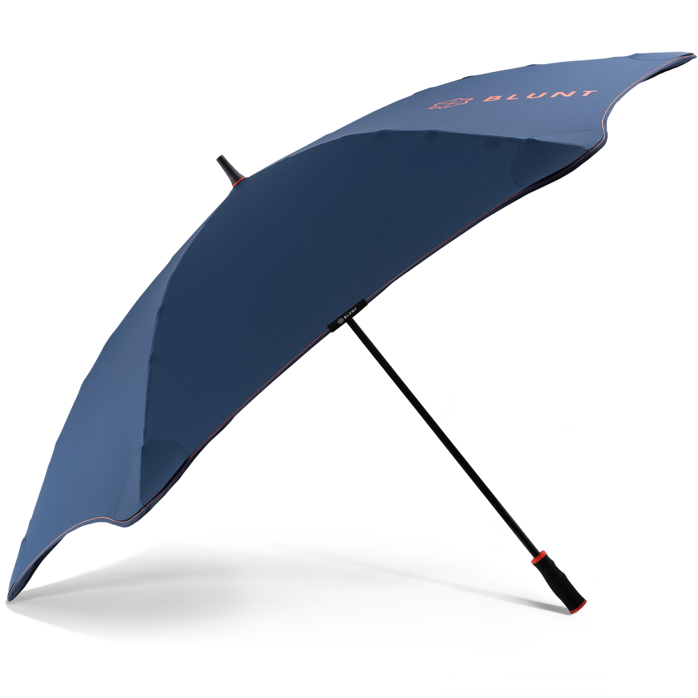 2020 Navy/Orange Sport Blunt Umbrella Side View