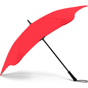 2020 Red Exec Blunt Umbrella Side View