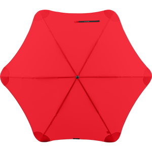 2020 Red Exec Blunt Umbrella Top View