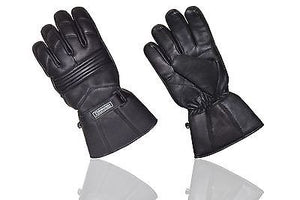 REAL LEATHER MOTORCYCLE RACING GLOVES