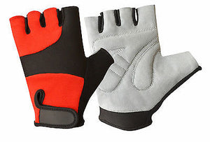 CYCLING WHEELCHAIR WEIGHT LIFTING PADDED FITNES GYM TRAINING GLOVE