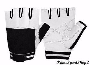 WEIGHT LIFTING PADDED TRAINING BODY BUILDING GYM  GLOVES