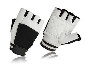 PRIME SPORTS WEIGHT LIFTING PADDED LEATHER GYM SPORTS & WHEELCHAIR GLOVES W-1002