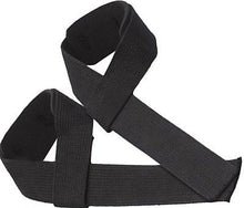 PRIME SPORTS NEOPRENE PADDED  WEIGHT LIFTING STRAPS BLACK BAR WRIST WRAPS PAIR